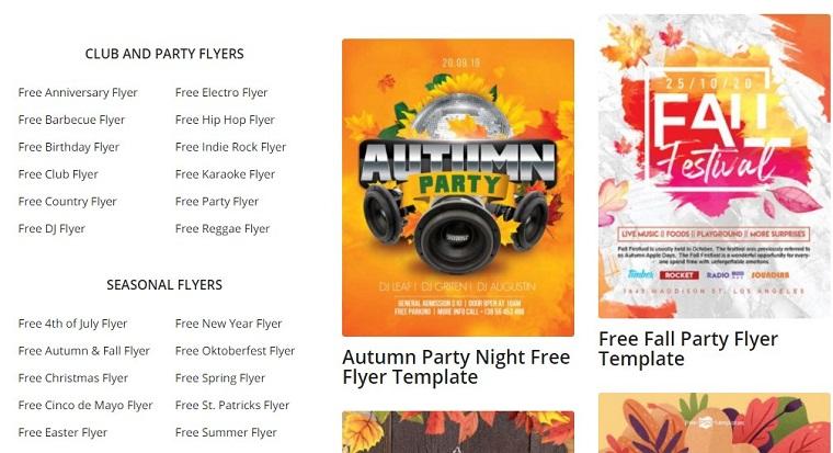 Free PSD Flyer