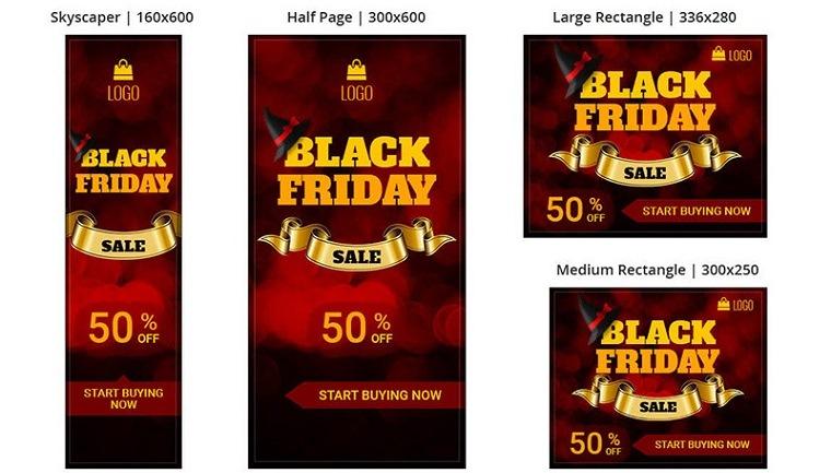 Shopping & E-commerce Black Friday Sale Animated Banner