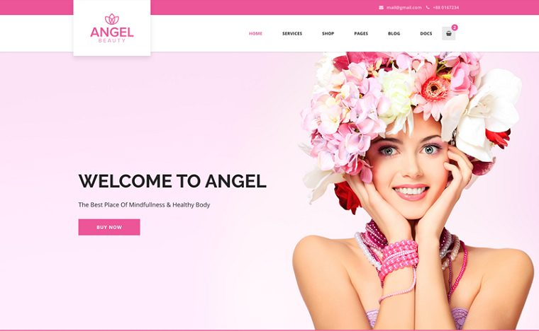 Amazing Angel WooCommerce Elementor WordPressTheme