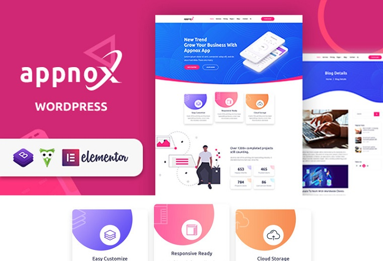 Bright Appnox WordPress Theme