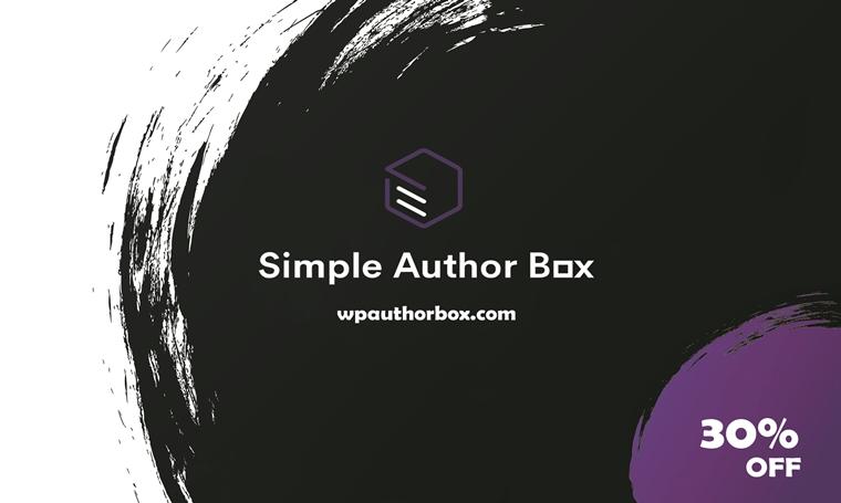 WebFactory - Simple Author Box.