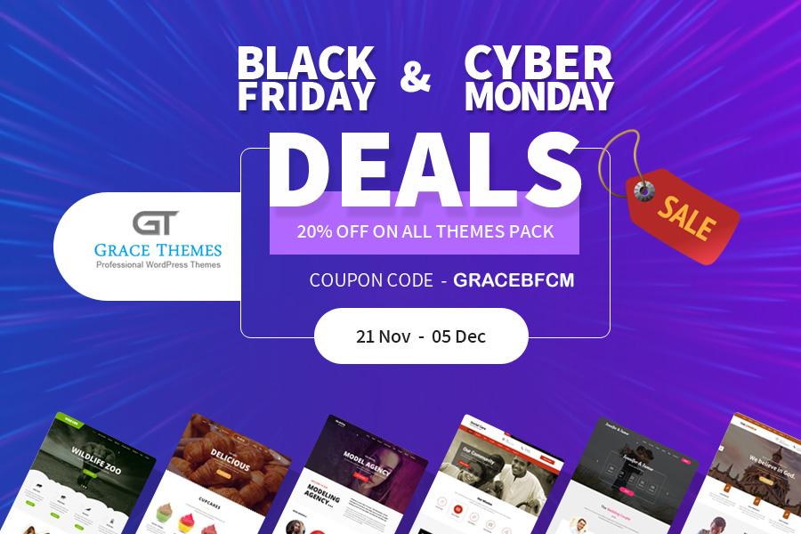 Grace Themes Digital Black Friday Deals