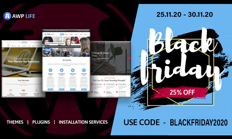 AWPLIFE Digital Black Friday Deals