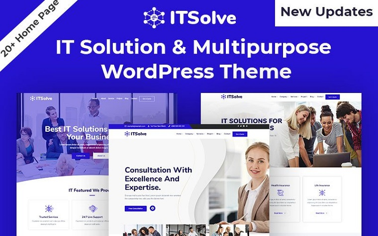 Trendy IT-Solve WordPress Theme
