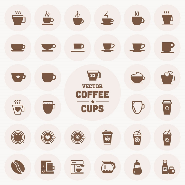 Coffee Cup Set.