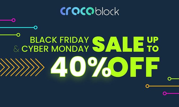 Crocoblock Black Friday