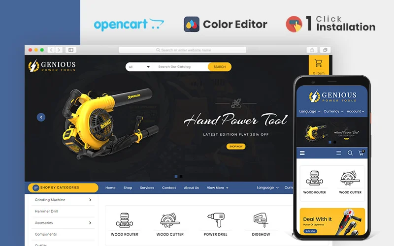 genious-power-tools-opencart-template