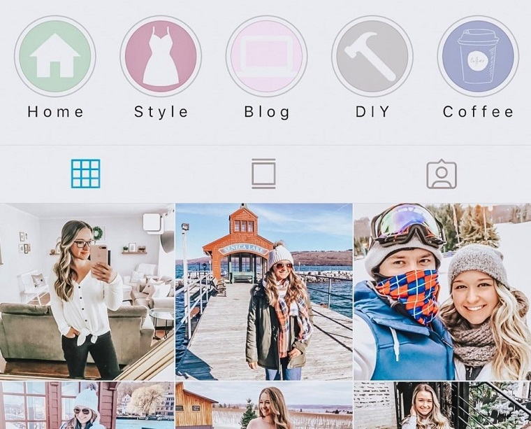 2 different styles Instagram covers free.