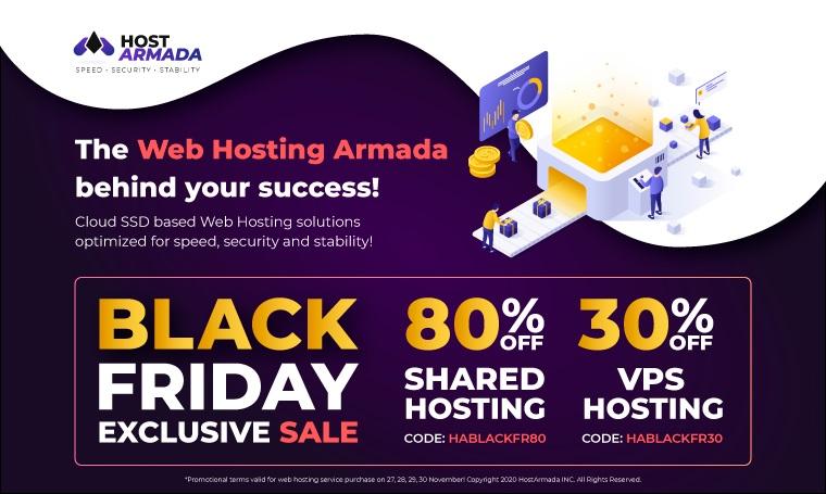 HostArmada INC Digital Black Friday Deals