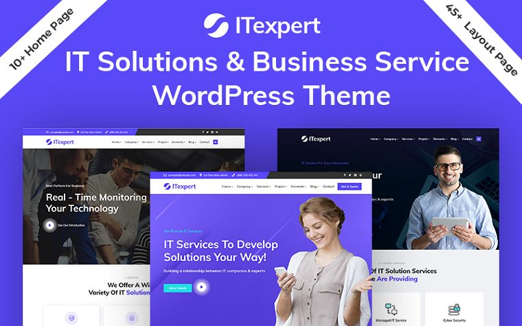 Modern ITexpert WordPress Theme