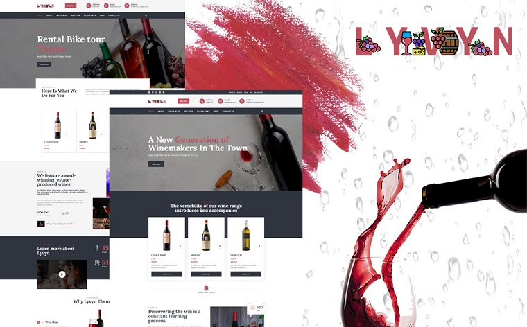 Stylish Lyvyn WordPress Theme