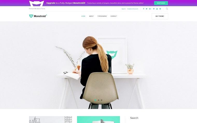 Multipurpose Business Minimalistic WordPress Theme