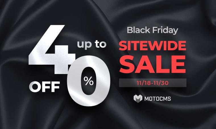 MotoCMS Digital Black Friday Deals