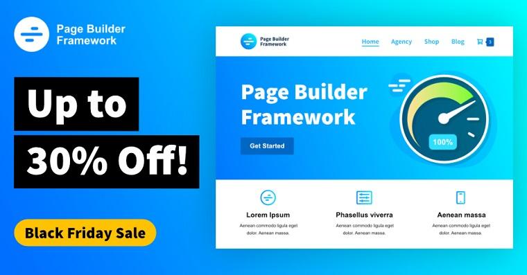 Page Builder Framework.