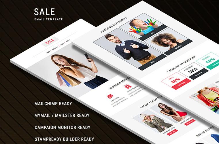 Sale - Responsive Newsletter Template