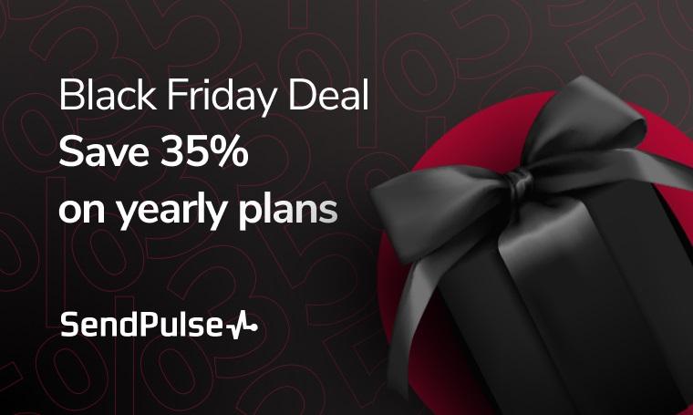 SendPulse Digital Black Friday Deals