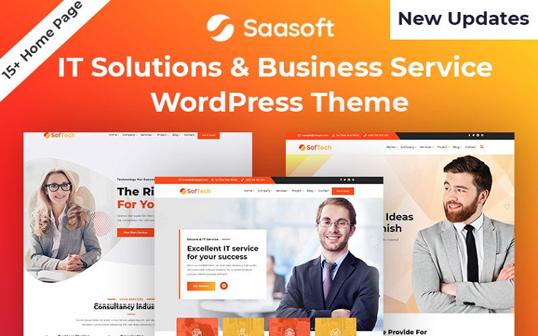 IT Solution Softech WordPress Theme