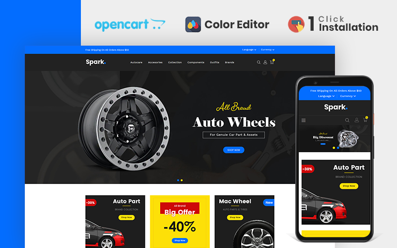 spark-auto-parts-store-opencart-template