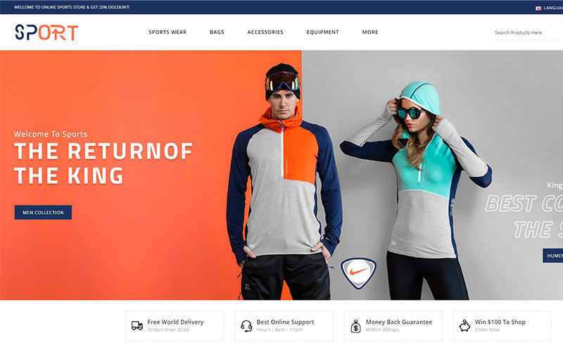sports-store-opencart-template