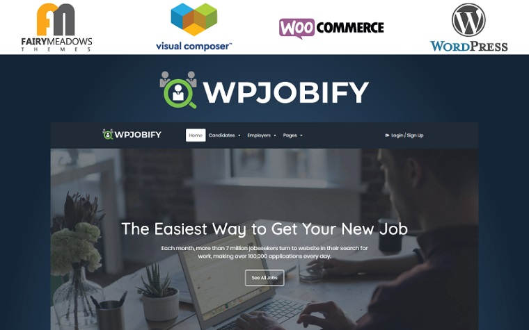 Elegant WPJobify WordPress Theme