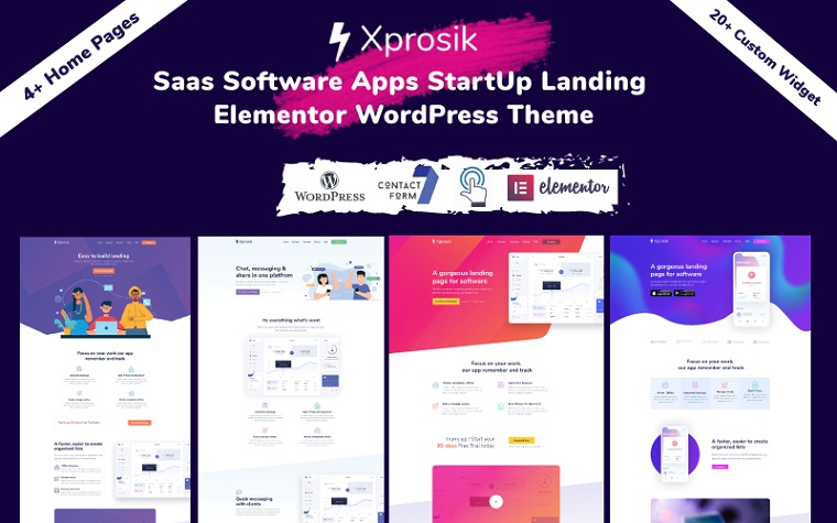 Bright Xprosik Elementor WordPress Theme