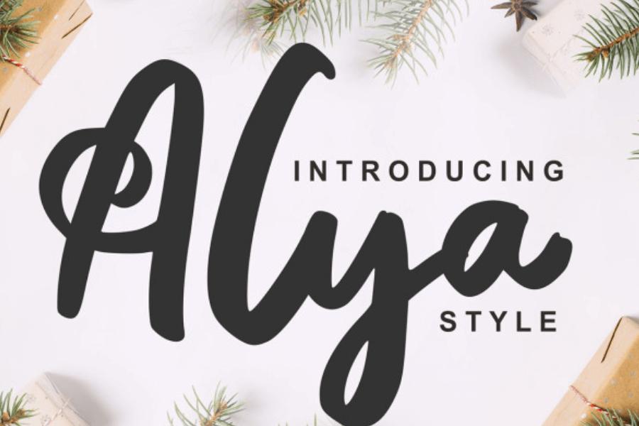 festive fonts