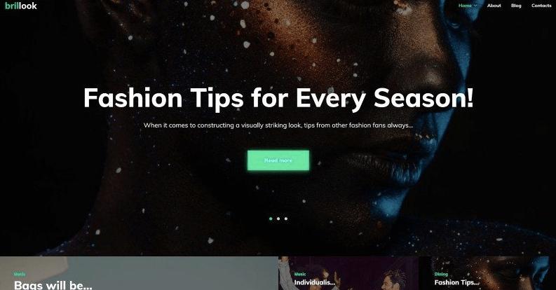free christmas website templates