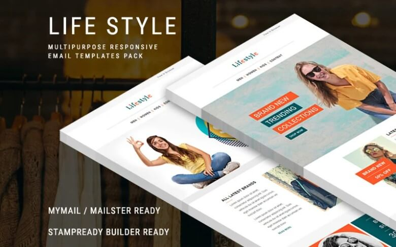 life style email template