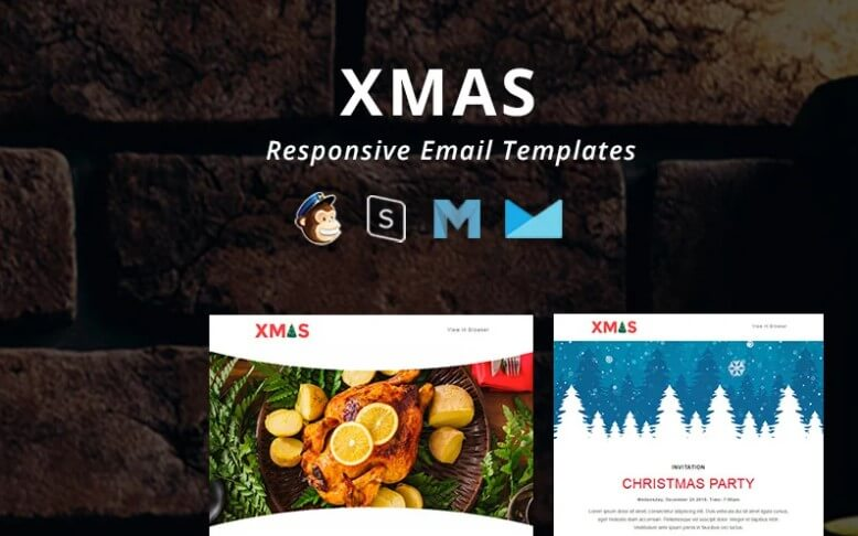 xmas email template