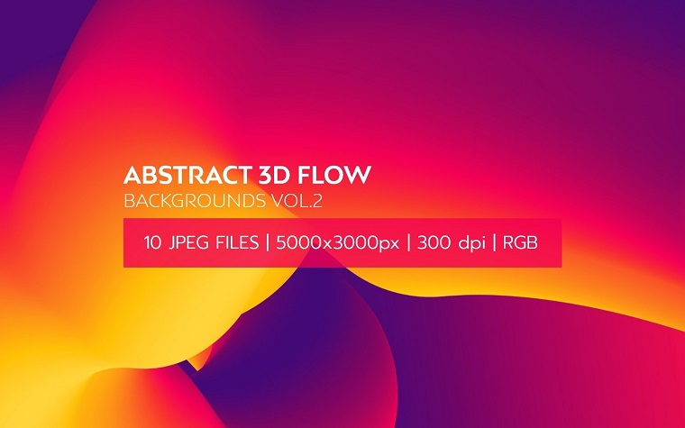 Abstract 3D Flow