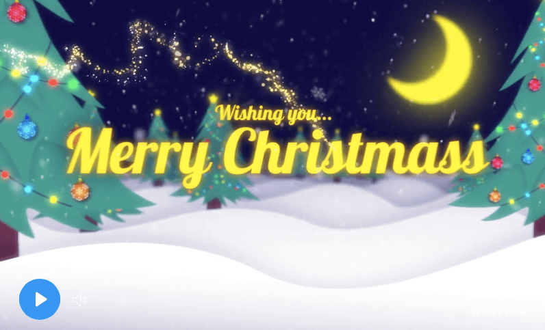 after effects christmas templates