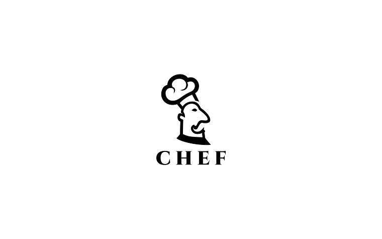 Minimalistic Chef Logo