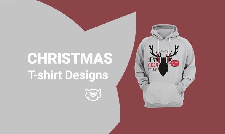 christmas tshirt design main image
