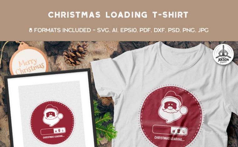 Christmas Loading T-shirt.