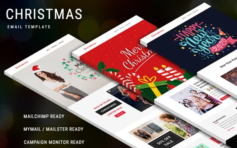 Christmas - Multipurpose Responsive Email Newsletter Template