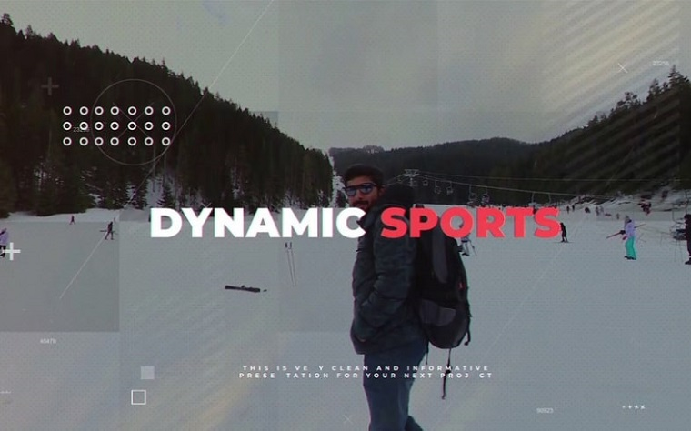 Inspiring Sports After Effects Slideshow Template