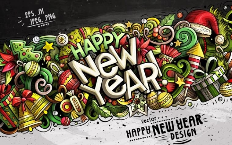 Latest Happy New Year Graphics.