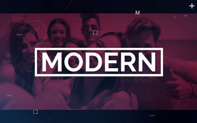 Modern Teen Spirit After Effects Slideshow Template