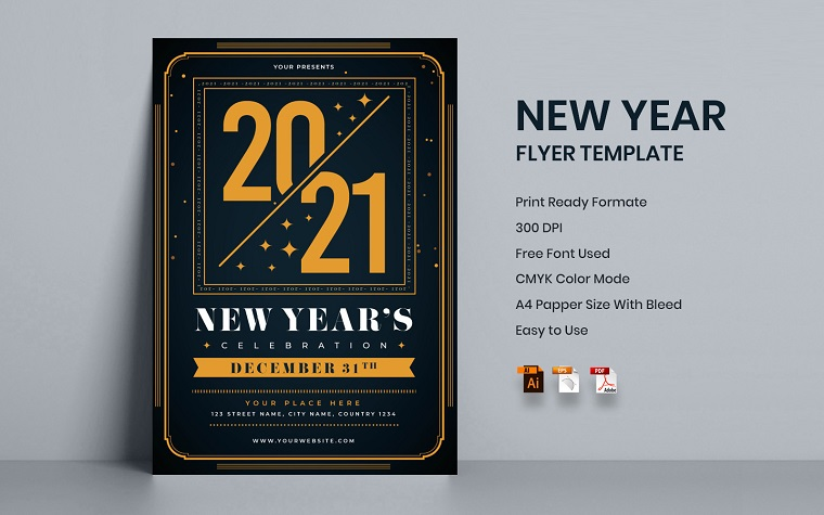 New Year Corporate Identity Template