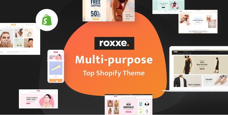 Roxxe - Responsive Multipurpose Shopify Theme.