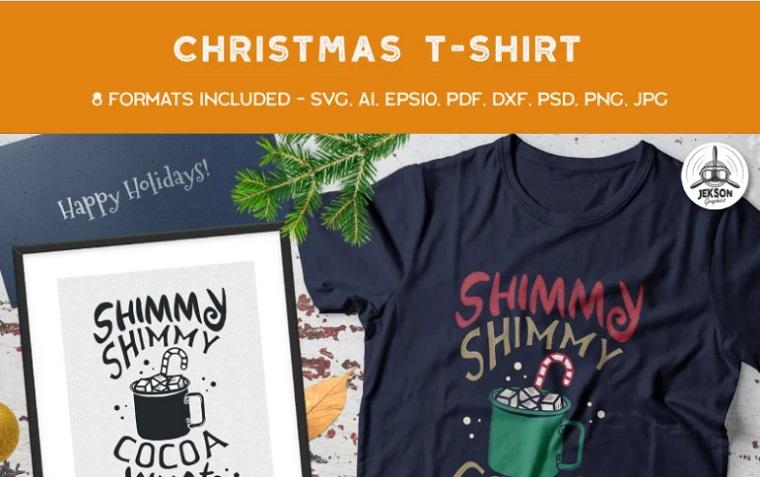 Shimmy Shimmy Hot Cocoa T-shirt.