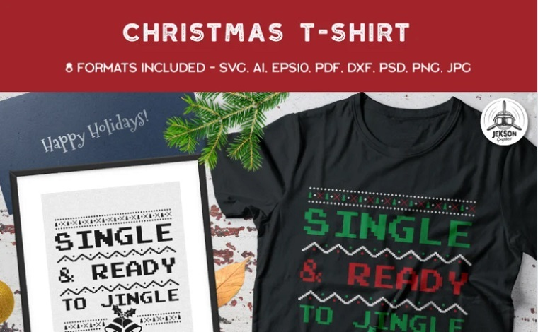Single & Ready For Jingle T-shirt.
