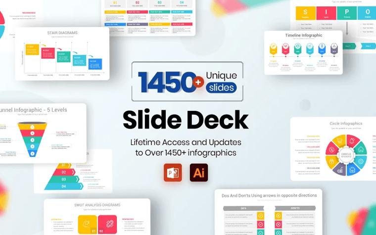 Slide Deck - Multipurpose Infographics PowerPoint Template