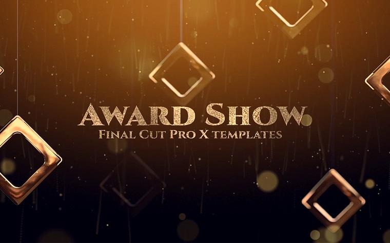 Award Show Opener Final Cut Pro X Template