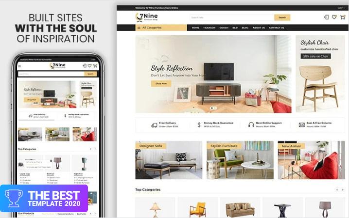 7nine - The Furniture & Interior Premium Shopify Theme.