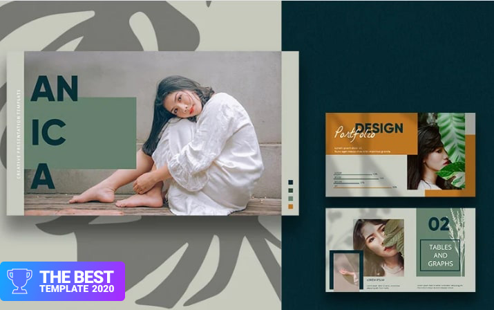 ANICA PowerPoint Template.