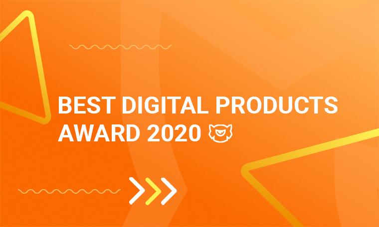 best digital products award 2020