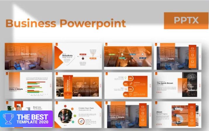 Business Presentation Google Slides.