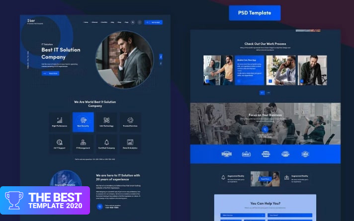 Iter - IT PSD Template.