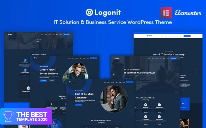 Logonit - IT Solutions and Business Service WordPress Theme.